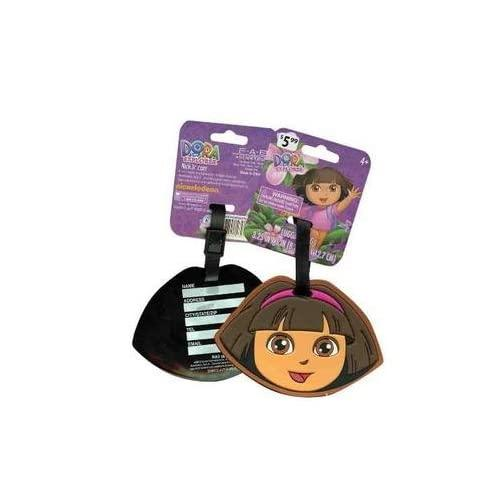 Dora The Explorer Face Silicone Luggage Tag Backpack Tag Bag Tag Name Tag