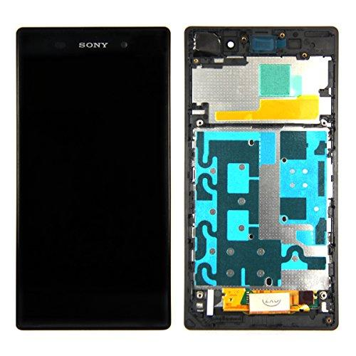 Skiliwah Lcd Touch Screen Digitizer Assembly With Frame For Sony Xperia Z1 L39H C6902 C6903 C6906