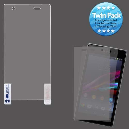 Mybat Screen Protector Twin Pack For Sony C6916 Xperia Z1S - Retail Packaging - Twin Pack/Clear