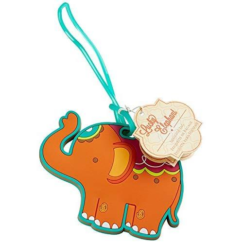 Favoronline Lucky Elephant Luggage Tags, 24