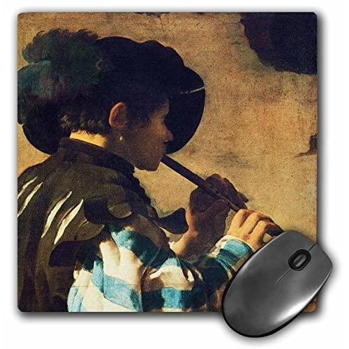 The Flute Player, 1621 By Hendrick Terbrugghen - Mouse Pad, 8 By 8 Inches (Mp_175456_1)