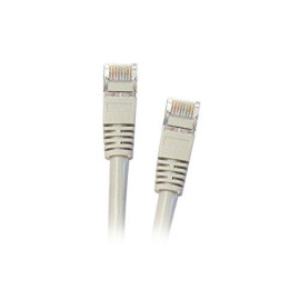 Shielded Cat5E 7-Foot Gray Ethernet Cable, Snagless/Molded Boot (Cne42241)