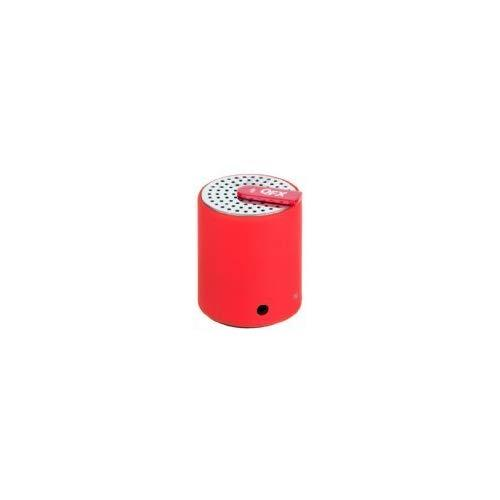 Qfx Cs-27Btrd Portable Bluetooth Speaker With Aux-In - Red