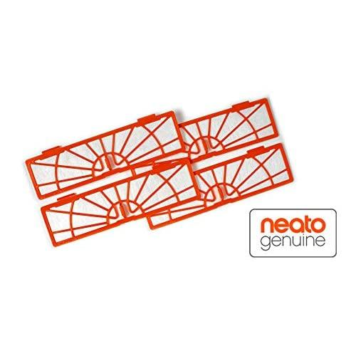 Neato Standard Filter For Botvac Robot Vacuums, 4-Pack