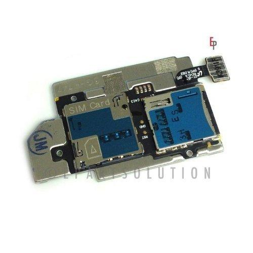 Epartsolution-Samsung Galaxy S3 Sgh-I747 T999 Flex Cable Memory &Amp; Sim Card Tray Slot Holders Connector Replacement Part Usa Seller