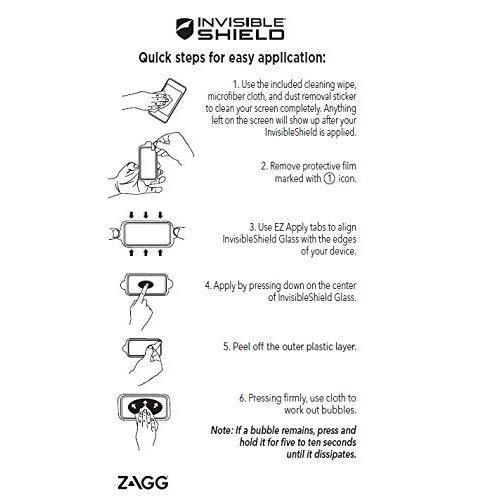 Zagg Scratch Resistant Screen Protector For Htc One - Retail Packaging - Transparent