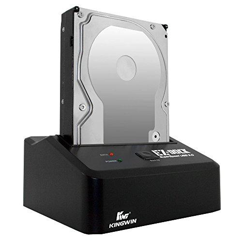 """Kingwin Usb 3.0 To Ssd / Sata Hard Drive Docking Station. Compatible W/ 2.5""""/3.5"""" Inch Sata Hdd / Ssd (Sata I/Ii/Iii) Performance. [Hot Swap Function] Tool-Free Design, 5Gbps Speed &Amp; Support Uasp"""