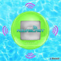 Portable Waterproof Floating Pool Speaker - Outdoor Wireless Bluetooth Compatible Rechargeable Battery Powered Shower Loud Speaker System - Usb Charger - Ipod Android Iphone - Pyle Pwr90Dgn (Green)