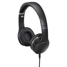 Samsung Level-On Premium Stereo Headphones For Smartphones - Retail Packaging - Black