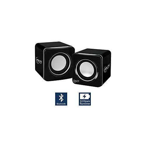 Arctic S111 Bt Mobile Bluetooth V4.0 Sound-System With 2 X 2 W Rms - Retail Packaging - Black