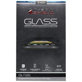 Zagg Invisibleshield Glass Screen Protector For Htc One