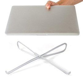 Prop Laptop Stand - Portable Cooling Stand - Improves Viewing Angle