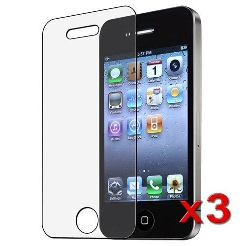 Generic Screen Protector For Iphone 4/4S - Non-Retail Packaging - Clear