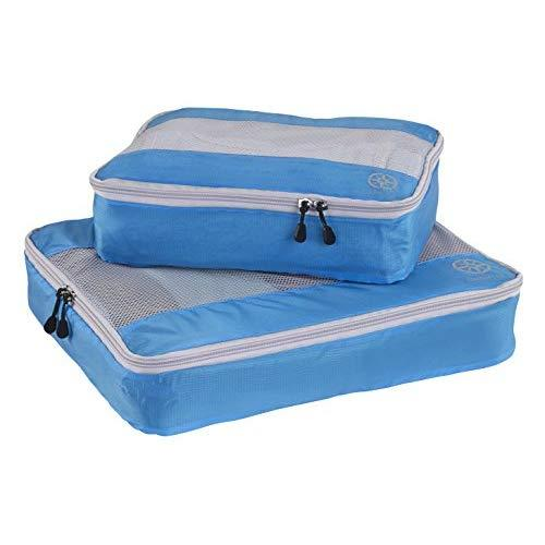 Uncharted Ultra-Lite Packing Cube 2 Piece Set, Electric Blue, One Size