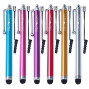Wisdompro Stylus With Lanyard Tether For Capacitive Touch Screen With Microfiber Cleaning Cloth (9 Pieces)
