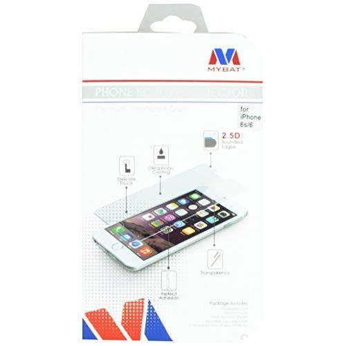Mybat Tempered Glass Screen Protector For Apple Iphone 6 - Retail Packaging - Clear