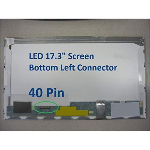 """Toshiba Satellite C75D-A7310Lcd 17.3"""" Led Screen Display Panel Left Connector"""