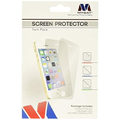 Mybat Screen Protector Twin Pack For Samsung Galaxy Note 4 - Retail Packaging - Clear