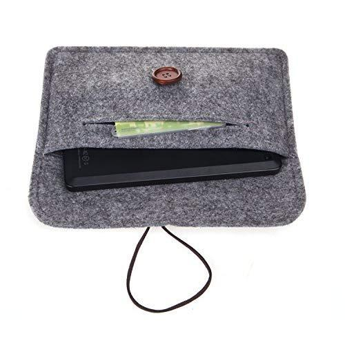 Bear Motion For New Fire Hd 6 Tablet - Premium Felt Sleeve Case For Fire Hd 6 (Oct 2, 2014 Release) - Gray