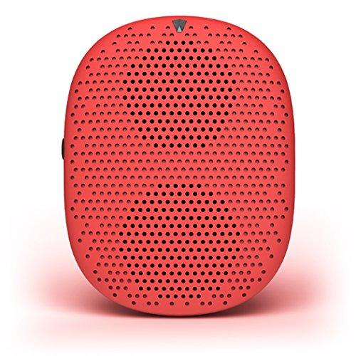 Isound Popdrop Wireless Speaker, Cherry