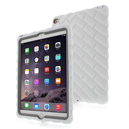 Apple Ipad Air 2 Drop Tech White Gumdrop Cases Silicone Rugged Shock Absorbing Protective Dual Layer Cover Case