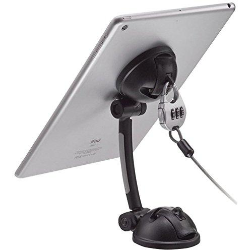 Cta Digital Pad-Smt Suction Mount Stand With Theft Deterrent Lock For Tablets And Smartphones, Including Ipad 10.2-Inch (Gen. 7), Ipad Gen. 6, Iphone 11 &Amp; More