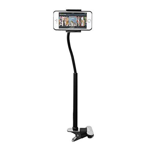 Cta Digital Adjustable Clip-On Stand For Smartphones And Mini Tablets (Pad-Cos)