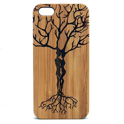 Ketubah Love Tree Case For Iphone 6S Or Iphone 6   Imakethecase Eco-Friendly Bamboo Wood Cover   Life Love Couples Jewish