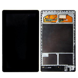 Skiliwah Lcd Touch Screen Digitizer Assembly For 2013 Google Nexus7 Asus Me571K Gen 2Nd Frame Wifi Version