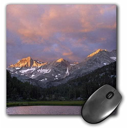 Usa, California. Marsh Lake At Sunrise - Us05 Bjy0054 - Mouse Pad, 8 By 8 Inches (Mp_142644_1)