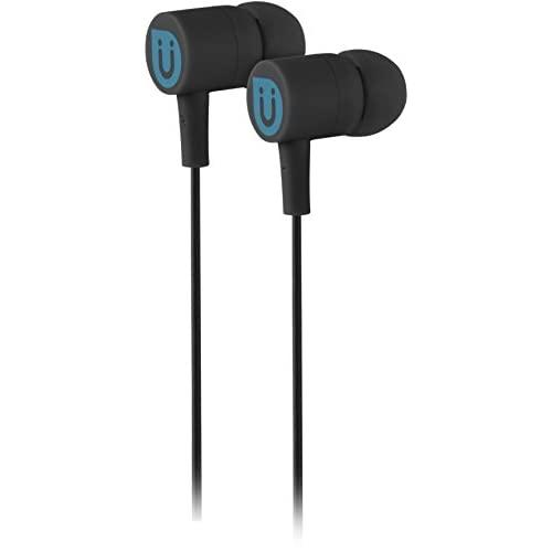 Uber In Ear Wired Earbuds, Comfortable Rubber Headphones, 3.5Mm, High Sound Quality, Extra Earbud Tips, For Apple Iphone, Ipad, Ipod, Android Smartphones, Samsung Galaxy, Tablets & More, Black, 13124