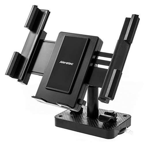 Aleratec Universal Permanent Or Portable Tablet And Smartphone Desktop/Wall Mount Holder