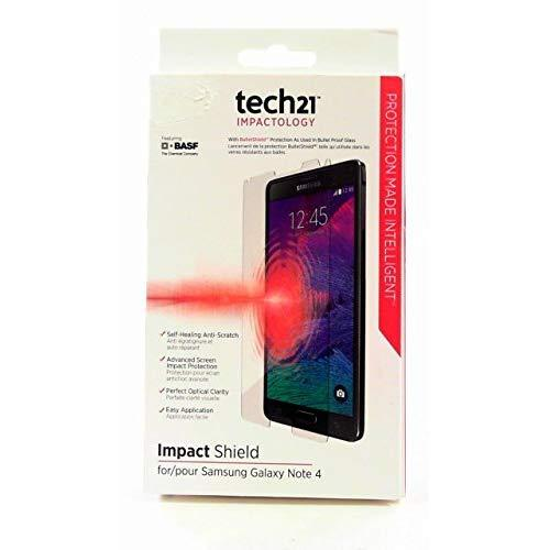 Tech21 Impactology Impact Shield With Self Heal For Samsung Galaxy Note 4 Screen Protector
