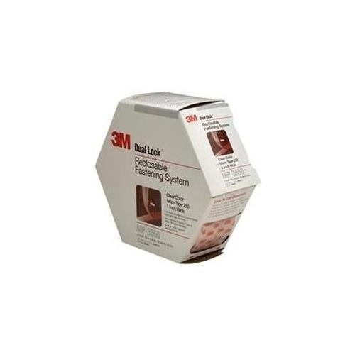 3M Mp3560 Dual Lock Reclosable Fastener System, 2Pk, Clear