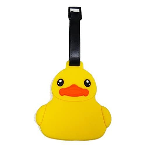 Tapp C. Travel Luggage Name Tag - Baby Duck