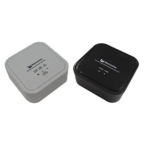 Wolverine 5.8Ghz And Bluetooth Wireless Audio Transmitter And Receiver Adapter To Wirelessly Stream Music To Your Existing Sound System.