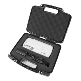Casematix Safe And Secure Hard Travel Carrying Case Compatible With Elmo Mo1 Visual Presenter Or Mx1 Document Camera Scanner, Cables And Accessories