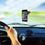 Magnetic Cell Phone Car Mount - Universal Windshield And Dashboard Holder For Iphone, Android, Samsung Galaxy, Note, Nexus, Etc