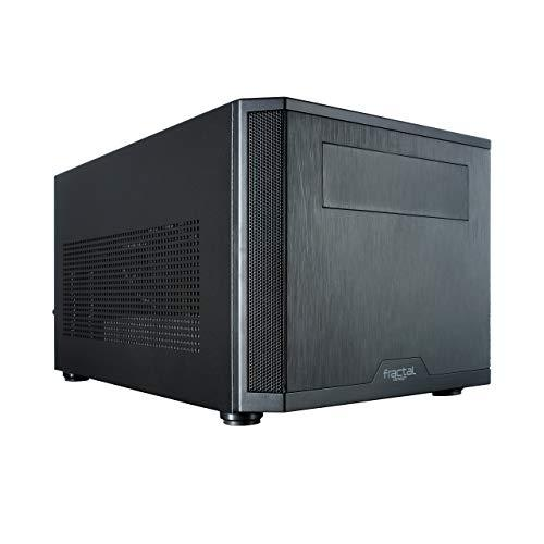 Fractal Design Core 500 - Mini Tower Computer Case - Mini Itx - Optimized High Airflow And Cooling - 1X 140Mm Silent Fan Included - Brushed Aluminium - Water-Cooling Ready - Black
