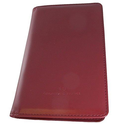 Travel Neck Wallet With Detachable Strap (Burgundy) Ph1501-Bd
