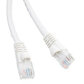 Cat6 Snagless/Molded Boot, Ethernet Patch Cable 7 Feet White, Cne480461