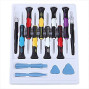 Tnp 16 In 1 Sets 16-Piece Repair Opening Pry Tools Precision Screwdriver Kit Set For Iphone X Iphone 8/8 Plus 7/7 Plus 6S/ 6S Plus 6/6 Plus Ipad Ipod Touch Samsung Android Smartphone &Amp; Other Device