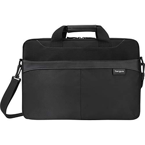 Targus Professional Business Casual Slipcase, Laptop Shoulder Bag For Macbook/Notebook With Protective Sleeve With Shoulder Strap For 15.6-Inch Laptop, Black (Tss898)