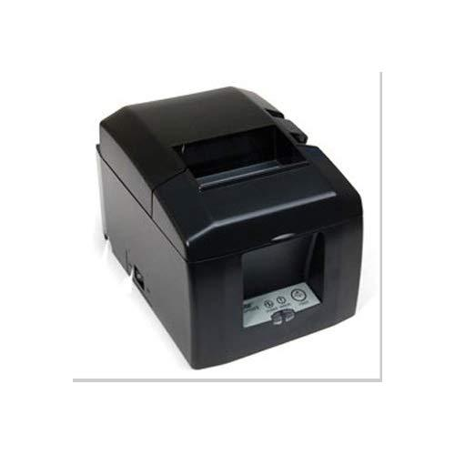Star Micronics Tsp654Iibi2 Bluetooth Thermal Receipt Printer With Auto Connect For Ios, Auto-Cutter, And External Power Supply - Gray