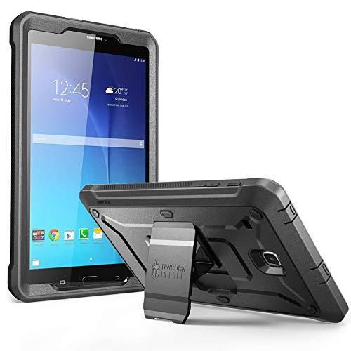 Supcase Unicorn Beetle Pro Series Case Designed For Galaxy Tab E 8.0, Full-Body Hybrid Protective Case For With Screen Protector Galaxy Tab 8.0 Inch Sm-T378/ Sm-T375 / Sm-T377 Tablet (Black)
