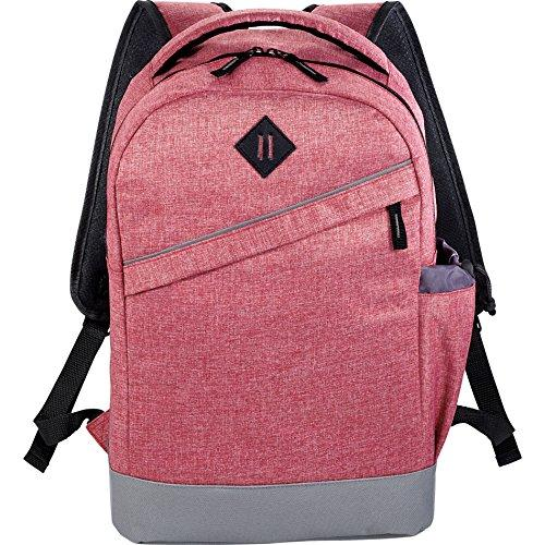 Xtitix 501538 Graphite Slim Business Laptop Computer Lightweight Backpack, Red