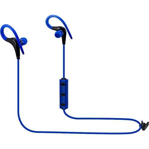 Ilive Iaeb06Bu Wireless Earbuds With Over The Ear Design, Includes 3 Sets Of Eartips, Blue