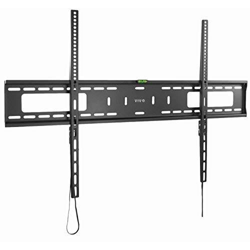 Vivo Black Extra Large Heavy Duty 60 To 100 Inch Lcd Led Curved And Flat Panel Screen   Tv Wall Mount Bracket With Max 900X600Mm Vesa (Mount-Vw100F)