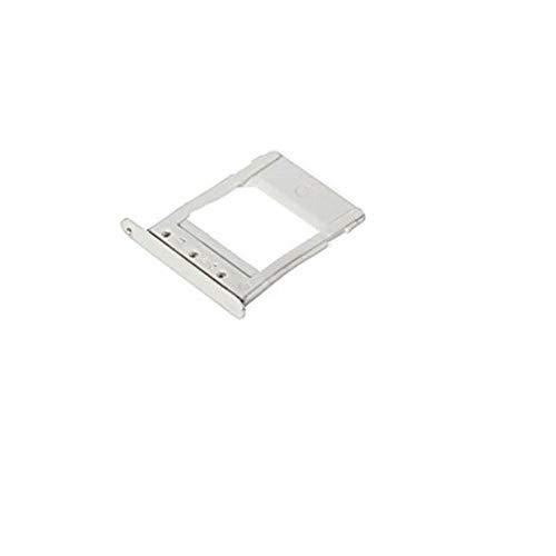 T-Shin Single Sim Card Tray Cover Card Slots Holder Replacement Part For Samsung Galaxy Note 5 N920 +Sim Card Remover Eject Pin Key Tool + T-Shin Cloth (White)