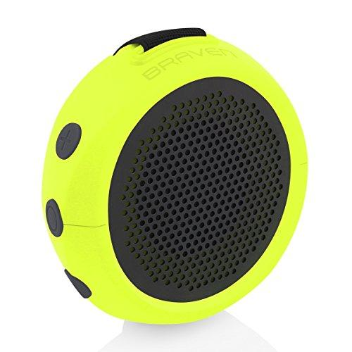 Braven 105 Wireless Portable Bluetooth Speaker [Waterproof][Outdoor][8 Hour Playtime] With Action Mount/Stand - Electric